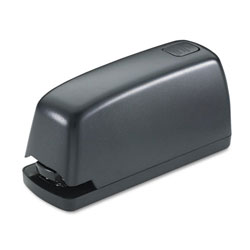 Universal Electric Stapler with Staple Channel Release Button, 15 Sheet Capacity, Black