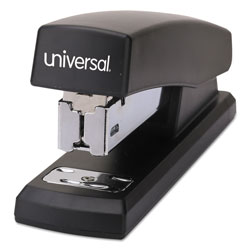 Universal Economy Half Strip Stapler, Black