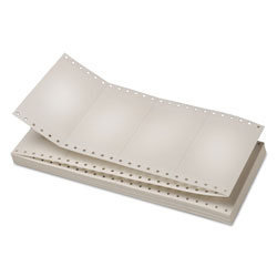 Universal Continuous White Index Cards, 3x5 Detached Size, 4,000 Cards/Carton