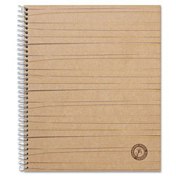 Universal Sugarcane Based Notebook, College Rule, 11 x 8 1/2, White, 100 Sheets/Pad