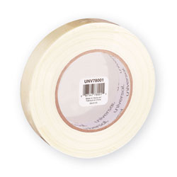 "Universal Medium Duty Filament Tape, 1"" (24mm) Wide x 60 Yards (55m) Long, 3"" Core"