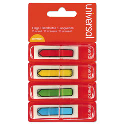 Universal Page Flags, Two Colors, Two 50-Flag Dispensers per Pack