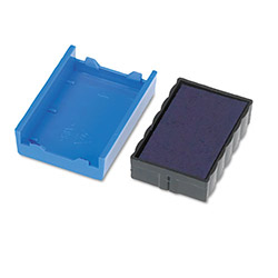 U.S. Stamp & Sign Trodat T4850 Dater Replacement Pad, 3/16w x 1d, Blue