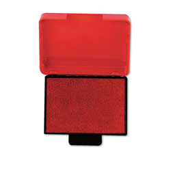 U.S. Stamp & Sign Trodat T5430 Stamp Replacement Ink Pad, 1w x 1-5/8d, Red