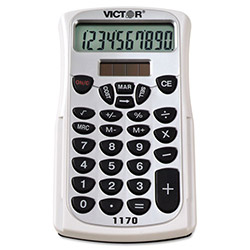 Victor 10 Digit Handheld Business Analyst