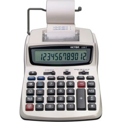 Victor 12 Digit Compact Commercial Calculator