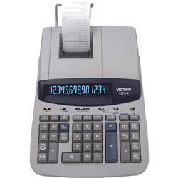 Victor 14 Digit Professional Grade Heavy Duty Commercial Printing Calculator with Financial/Loan Calculations