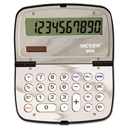 Victor 10 Digit Handheld Compact Calculator