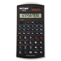 Victor 10 Digit Scientific Calculator with Fractions