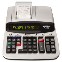 Victor 14 Digit Heavy Duty Commercial Printing Calculator with Prompt Logic & HELP Button