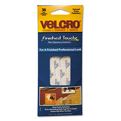 Velcro Hook to Hook Fasteners, Clear