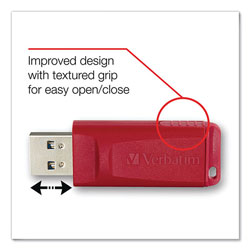 Verbatim Store 'n' Go™ USB Flash Drive, 4GB