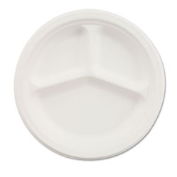 "Chinet Disposable 10.25"" Paper Plates, White"