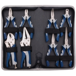 Vim Products 8 Piece Miniature Pliers Set