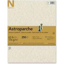 Wausau Papers Cover Stock, 8-1/2 x 11, Natural, 250 Sheets/Pack