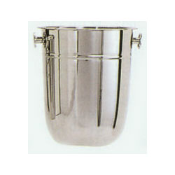 Admiral Craft Stainless Steel 8 Quart Wine and Champagne Bucket