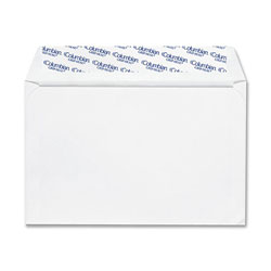 Westvaco Greeting Card Envelopes for Ink Jet Printers, 5 3/4 x 8 3/4, White, 100/Box