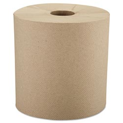 Windsoft 1280-6 Natural Bulk Hardwound Roll Paper Towels, 800'