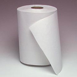 Windsoft 1290-6 White Bulk Hardwound Paper Towels, 800'