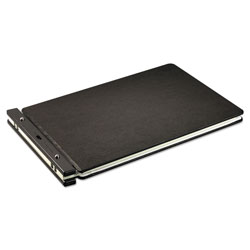 "Wilson Jones Post Binder For 11x17 Sheets, 7"" C to C, Black"