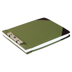 "Wilson Jones Canvas Sectional Post Binder for 8 1/2 x 11 Sheets, 2 3/4"" C. to C., Green/Red"