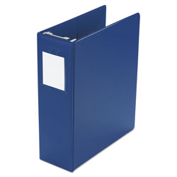 "Wilson Jones Large Capacity Hanging Post Binder Holds 870 11 x 8 1/2 Sheets, 3"" Cap., Blue"