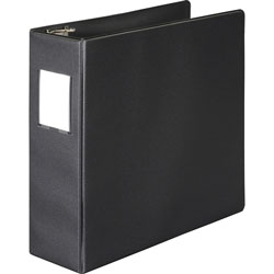 "Wilson Jones Vinyl D-Ring Binder, 3"" Capacity, Black"