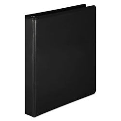 "Wilson Jones D-Ring 1"" View Binder, Black"