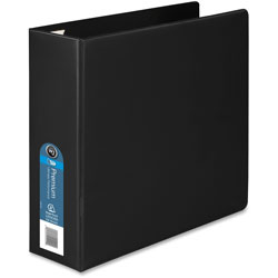 "Wilson Jones 44% Recycled No Gap Locking D-Ring Binder, 3"" Capacity, Black"