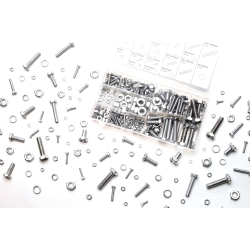 Wilmar 240 Piece Zinc Nut and Bolt Hardware Kit