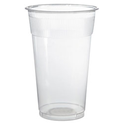 WNA Comet Plastic Cups, 10 oz., Translucent, Individually Wrapped