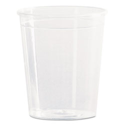 WNA Comet Comet Plastic Portion/Shot Glass, 2 oz., Clear, 50/Pack