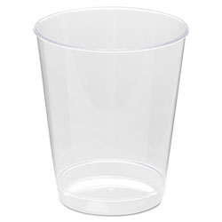 WNA Comet 8 Oz Hot/Cold Plastic Tumblers, Clear, Pack of 500