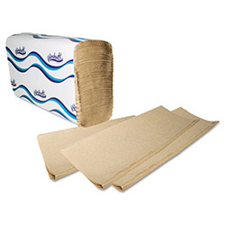 Windsoft 1040 Natural Embossed Bulk Multifold Paper Towels