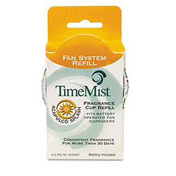 Timemist Fragrance Cup Refill for Dispenser, Acapulco Splash