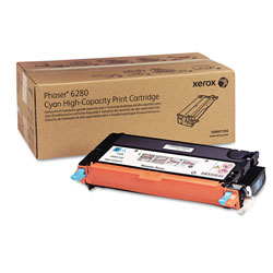 Xerox 106R01392 Cyan Toner, 5,900 Pages