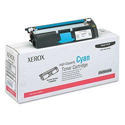 Xerox Toner Cartridge for Phaser 6120, High Capacity (4,500 pgs), Cyan