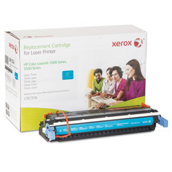 Xerox 006R01314 Replacement Toner for C9731A (645A), Cyan