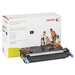 Xerox 006R01338 Replacement Toner for Q6470A (501A), Black