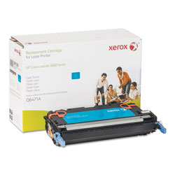 Xerox 6R1339 (Q6471A) Remanufactured Toner Cartridge, Cyan