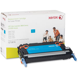 Xerox 6R1343 (Q7581A) Remanufactured Toner Cartridge, Cyan