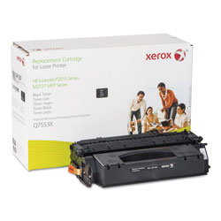 Xerox 006R01387 Replacement High-Yield Toner for Q7553X (53X), Black