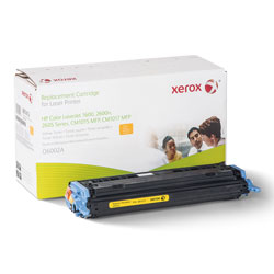 Xerox 006R01413 Replacement Toner for Q6002A (124A), Yellow