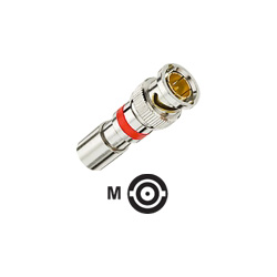 IDEAL BNC RG-59 Compression Connector - coaxial RF connector