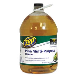 Zep Multi-Purpose Cleaner, Pine Scent, 1 gal Bottle