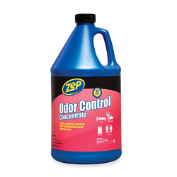 Zep Odor Control Concentrate, Gallon, No Scent/Odor