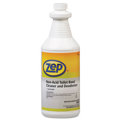 Zep Toilet Bowl Cleaner, Non-Acid, qt, Bottle