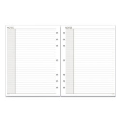 At-A-Glance Lined Notes Pages, 11 x 8.5, White, 30/Pack