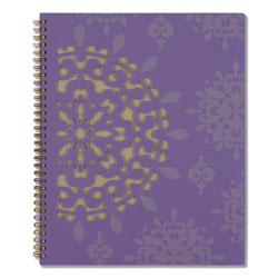 Cambridge Vienna Weekly/Monthly Appointment Book, 11 x 8.5, Purple, 2021