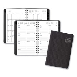 At-A-Glance Contemporary Weekly/Monthly Planner, Block, 8.5 x 5.5, Graphite Cover, 2022